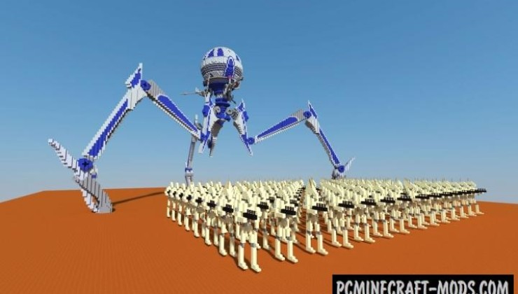 Cis Droid Army Map For Minecraft 1 15 1 14 4 Pc Java Mods