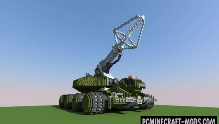 Type 92 Maser Beam Tank Map For Minecraft 1 15 1 14 4
