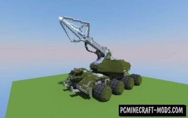 Type-92 Maser Beam Tank Map For Minecraft