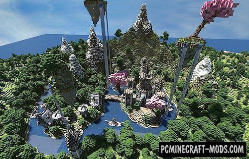 Kingdom Of Invernus Map For Minecraft