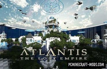 Atlantis – The Lost Empire Map For Minecraft