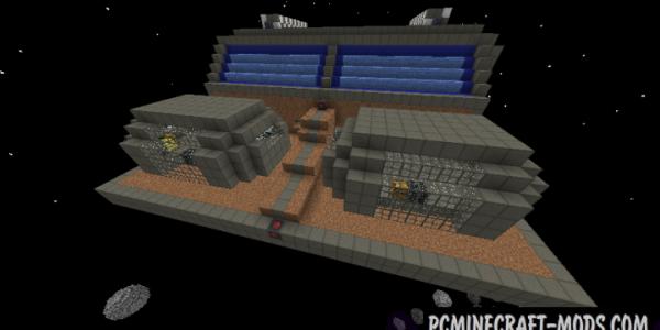Warp Drive - Technology, Mech Mod For Minecraft 1.12.2