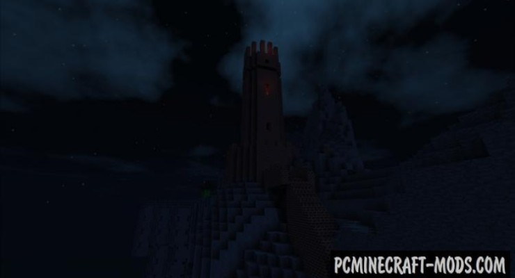 Lord of the Rings - Adventure Map For Minecraft