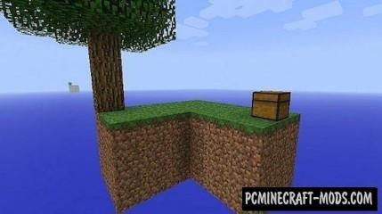 SkyBlock Map For Minecraft