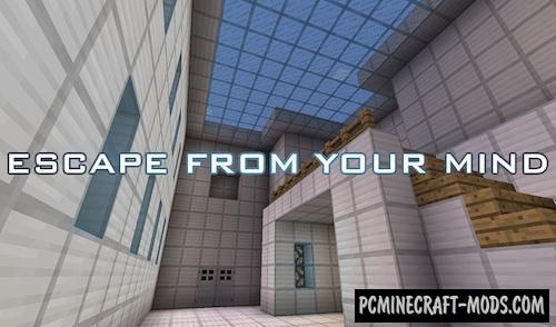Escape From Your Mind - Puzzle Map For Minecraft