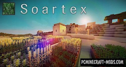 Soartex Fanver 64x Resource Pack For Minecraft 1.17, 1.16.5