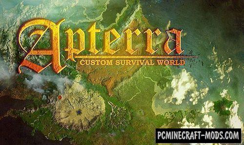 Apterra Map For Minecraft 1.14, 1.13.2 | PC Java Mods & Addons