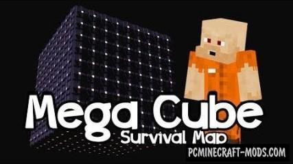 Mega Cube Surviva Map For Minecraft