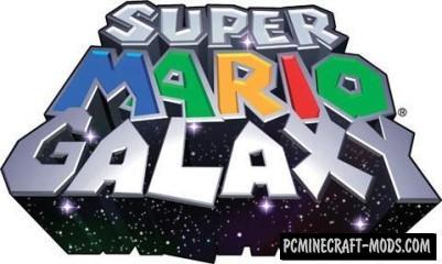 Super Mario Galaxy - Adventure Map Minecraft