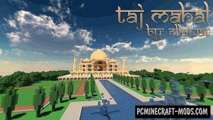 Taj Mahal Map For Minecraft