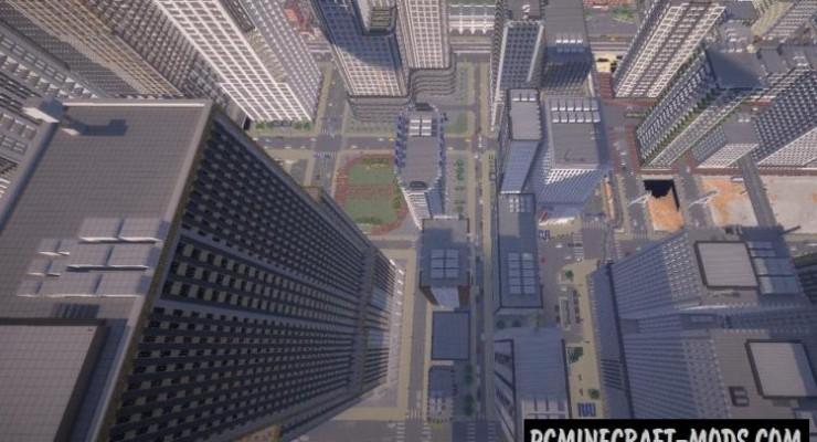 City of MAIKURA Map For Minecraft