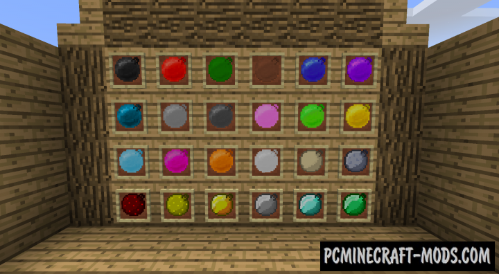 Bouncing Balls - New Blocks Mod For Minecraft 1.16.5, 1.12.2
