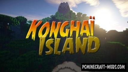 Konghaï Island Map For Minecraft