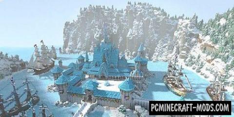 Arendelle Frozen Map For Minecraft