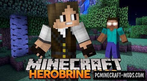 Herobrine Remake Mod For Minecraft 1.8.9