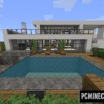 European Housing Building Map For Minecraft