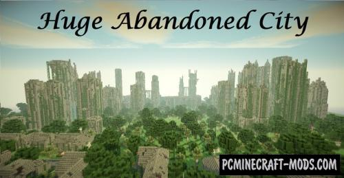 Huge Abandoned City Map For Minecraft
