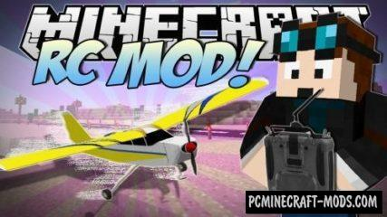 The RC Mod For Minecraft 1.12.2, 1.10.2, 1.7.10