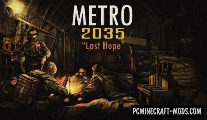 "METRO 2035 ""Last Hope"" Map For Minecraft"