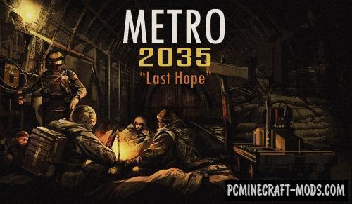 "METRO 2035 ""Last Hope"" - Adventure Map For MC"