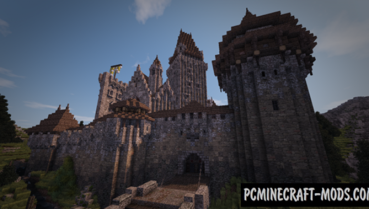 Penningham Castle Map For Minecraft