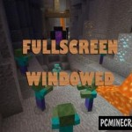 PC GUI Windows 10 Minecraft PE Bedrock Mod 1.2.11, 1.2.10, 1.2.9