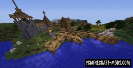 Medieval Village Map For Minecraft