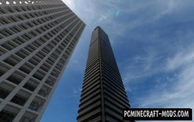 Aon Centre Los Angeles Map For Minecraft