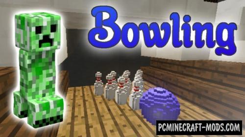 Bowling - Minigame Map For Minecraft