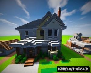 Suburban House Map For Minecraft