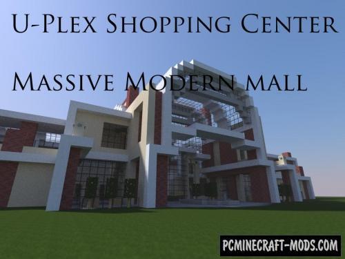 U-Plex Shopping Center Map For Minecraft