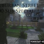 10 Suburban Houses Map For Minecraft