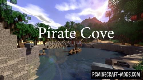 Pirate's Cove - Terrain, Building Map For MC