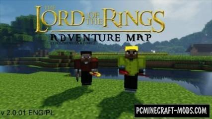 Lord of the Rings Map For Minecraft