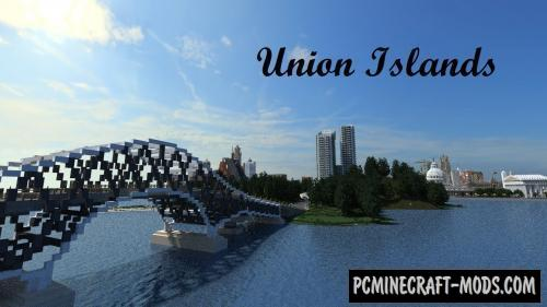 Union Islands - City Map For Minecraft