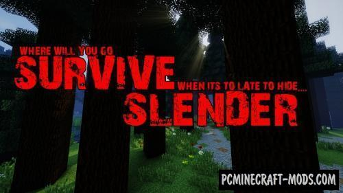 Survive Slender - Minigame, Finding Map For MC