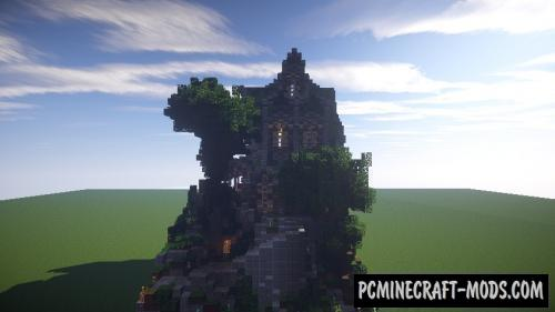 Fantasy/Medieval Plot - House Map For Minecraft