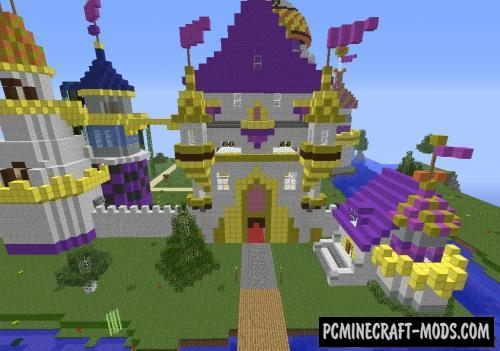 My Little Pony Canterlot Map For Minecraft PC Java - My little pony skins fur minecraft
