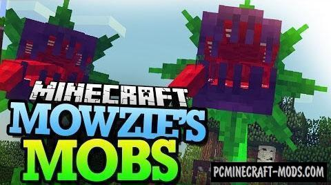 Mowzie's Mobs - Monsters Mod For Minecraft 1.12.2, 1.7.10