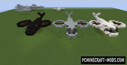 Avatar Helicopter Map For Minecraft