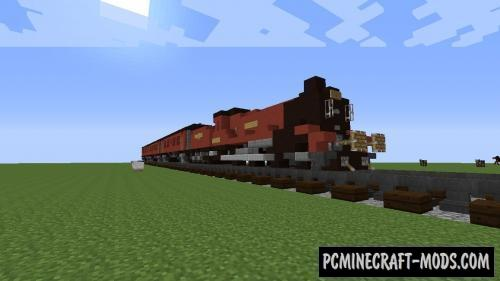 Hogwarts Express Map For Minecraft