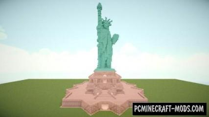 Statue of Liberty Map For Minecraft