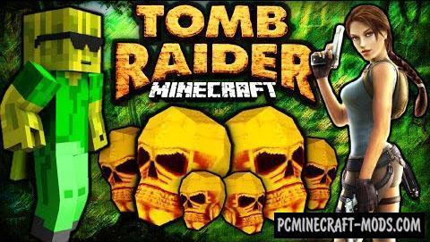 Tomb Raider IV - Adventure Map For Minecraft
