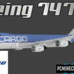 Boeing 777-300ER Map For Minecraft