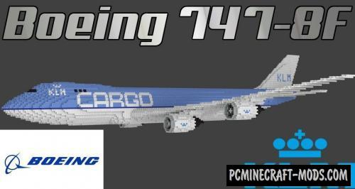 Boeing 747-8F Map For Minecraft
