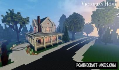 Victorian Home - Survival Map For Minecraft