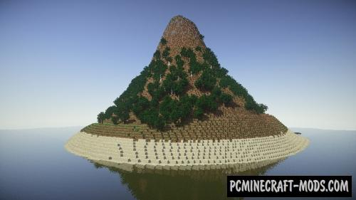 Survival Island Map For Minecraft 1.13.1, 1.12.2 | PC Java Mods & Addons