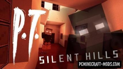P.T. Silent Hills 128x Resource Pack For Minecraft 1.8.9, 1.8