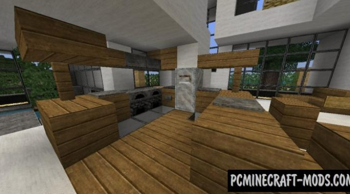 Modern House Map For Minecraft