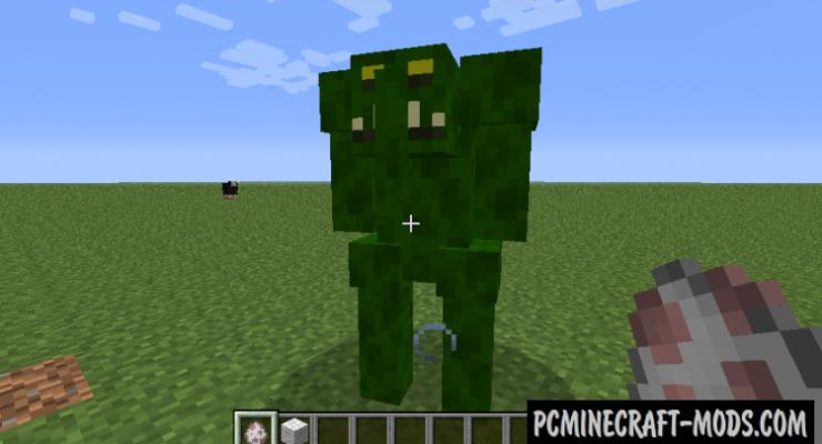 Dungeon Mobs Mod For Minecraft 1.7.10, 1.6.4